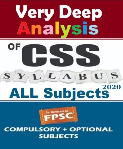 Deep Analysis of CSS Compulsory and Optional Subjects