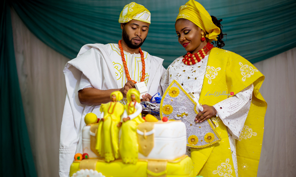 Yoruba Wedding Attire