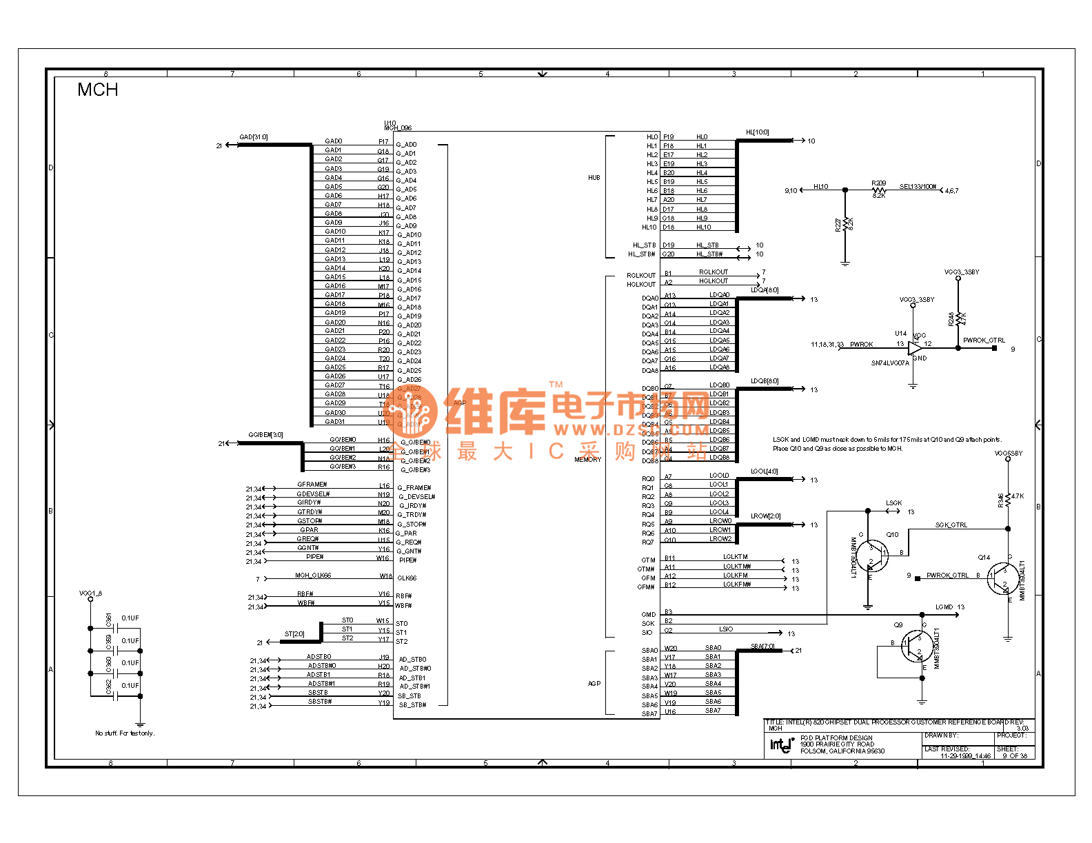 820e Computer Motherboard Circuit Diagram 49