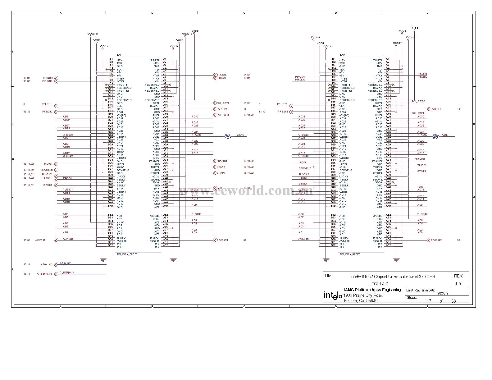810 Computer Motherboard Circuit Diagram 17