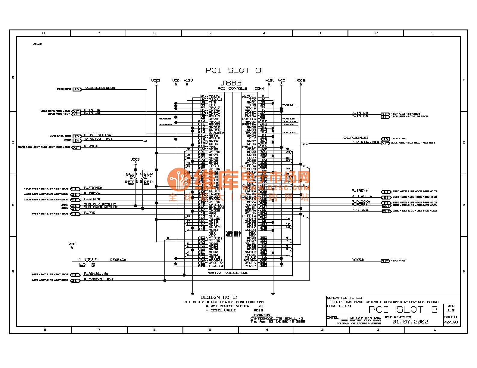 875p Computer Motherboard Circuit Diagram 046