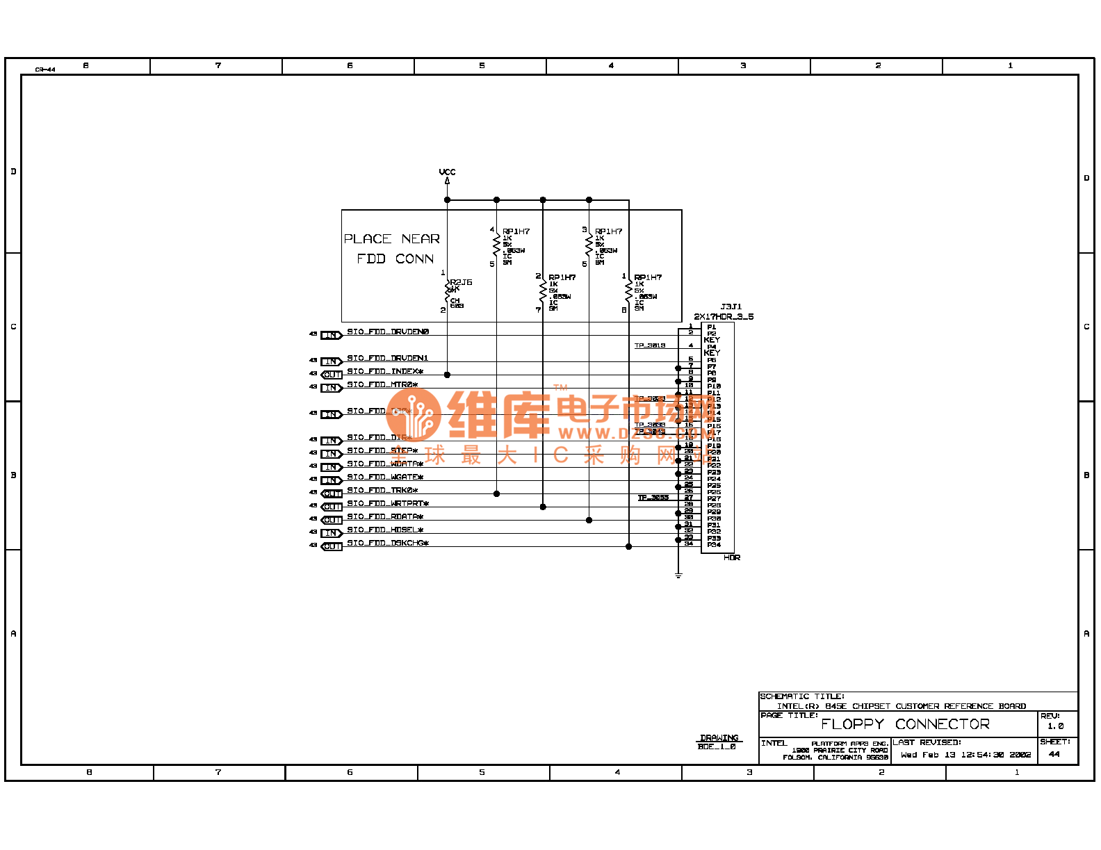 845e Computer Motherboard Circuit Diagram 44