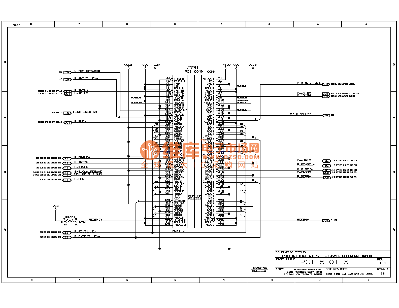 845e Computer Motherboard Circuit Diagram 30