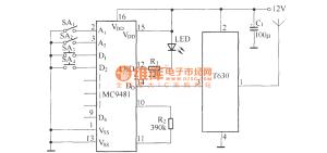 Remote control automatic door circuit diagram  Remote_Control_Circuit  Circuit Diagram