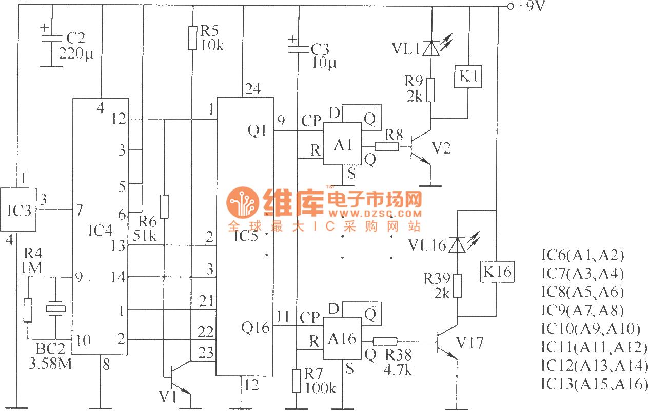 Wireless Remote Control Switch Circuit 5