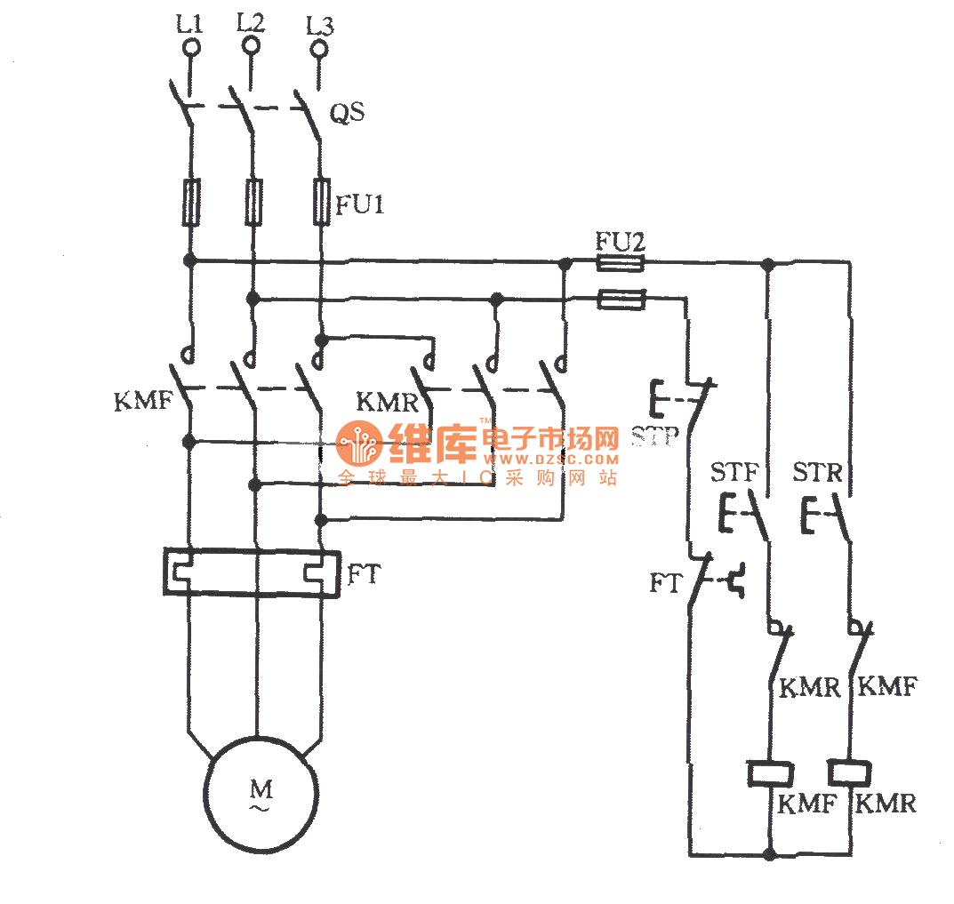Three Phase Motors For Jog Commutation Circuit