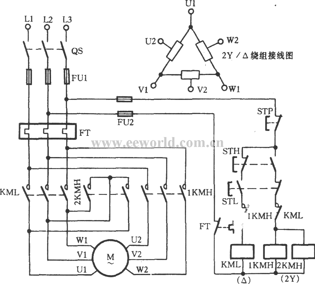 Three Phase Electric Motor Wiring Diagram