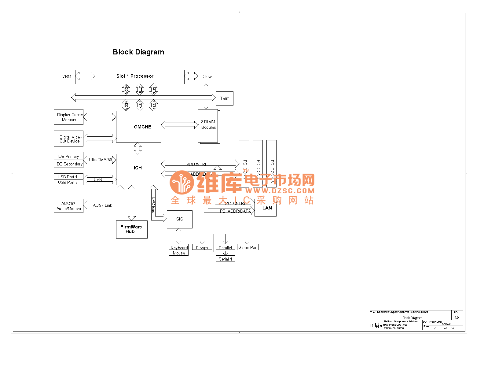 Computer Motherboard Circuit Diagram 810 4 02