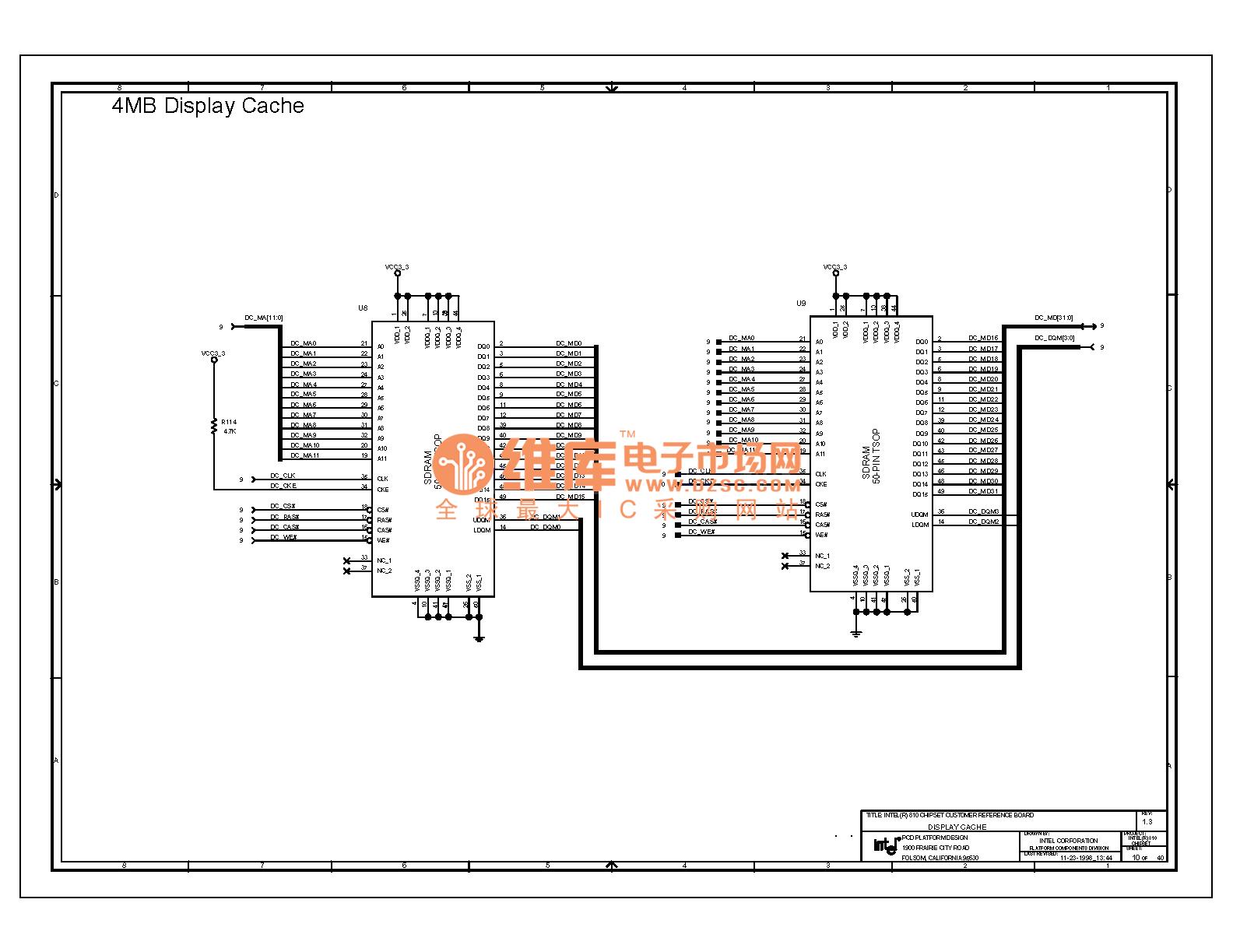 Computer Motherboard Circuit Diagram 810 1 10