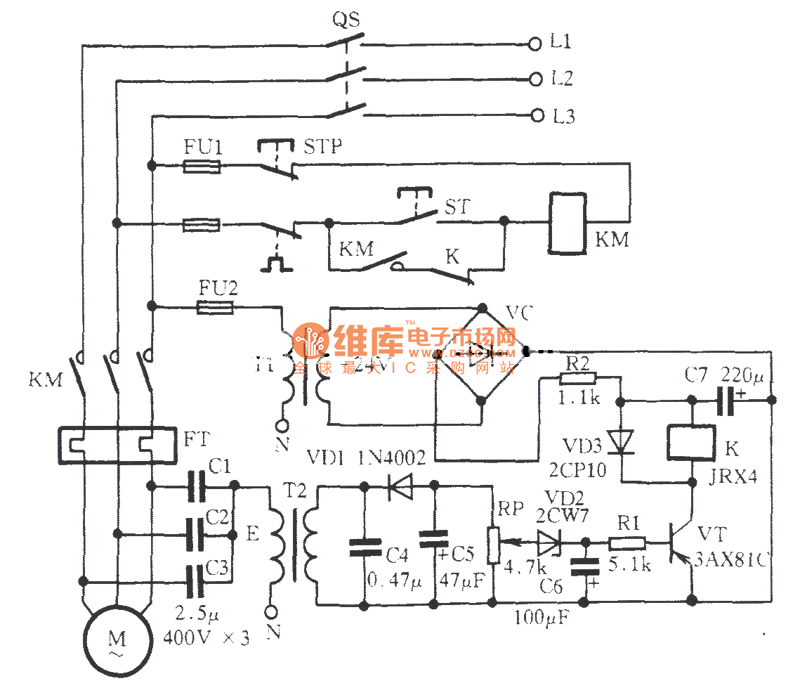 Zero Sequence Voltage Off Phase Protection Circuit