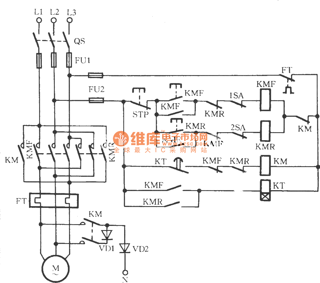 Download Reverse 3 Phase Motor Contactor Wiring