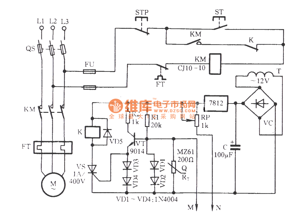 Thermistor Circuit Diagram