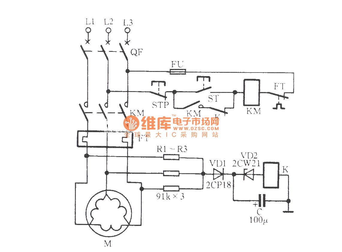 Circuit Diagram Of A Phase Failure