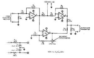 2 to 4 wire audio converter  AD_DA_Converter_Circuit