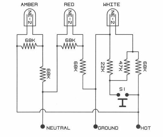 diagram electrical ground fault indicator wiring diagram