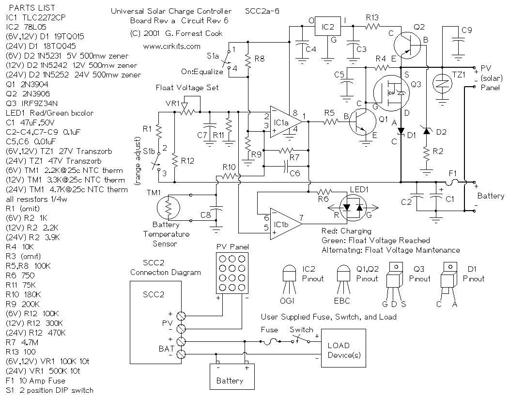 Mega Volt Complete Diy Solar Battery Charger Controller