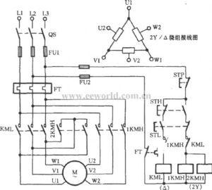 Two Speed 3 Phase Motor Winding Diagram  impremedia
