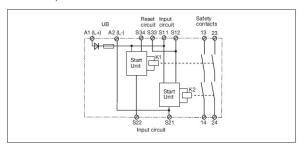 Pilz Safety Relay Wiring Diagram  Wiring Diagram