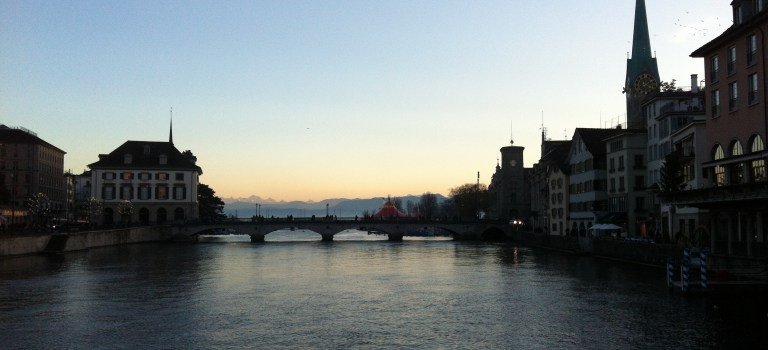 Zurich Loves Its Water