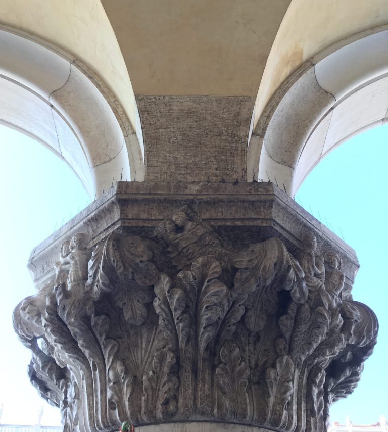 Doge's Palace column