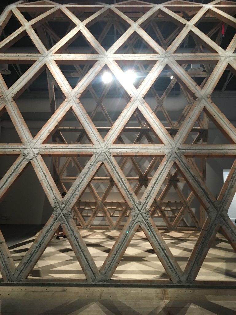 """Gabinete de Arquitectura's """"Breaking the Siege"""" also highlights simple, locally produced materials."""