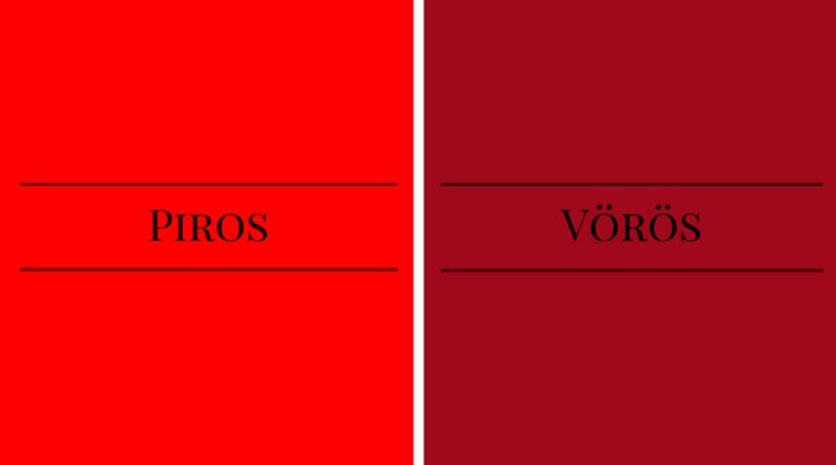 Piros and Vörös