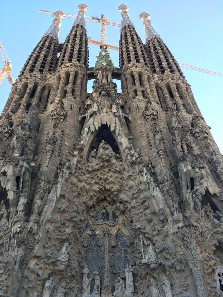 Barcelona Sagrada Familia Nativity Facade