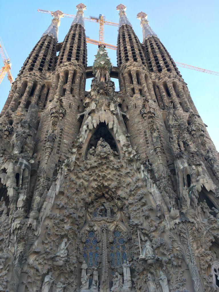 Barcelona Sagrada Familia Nativity Facade