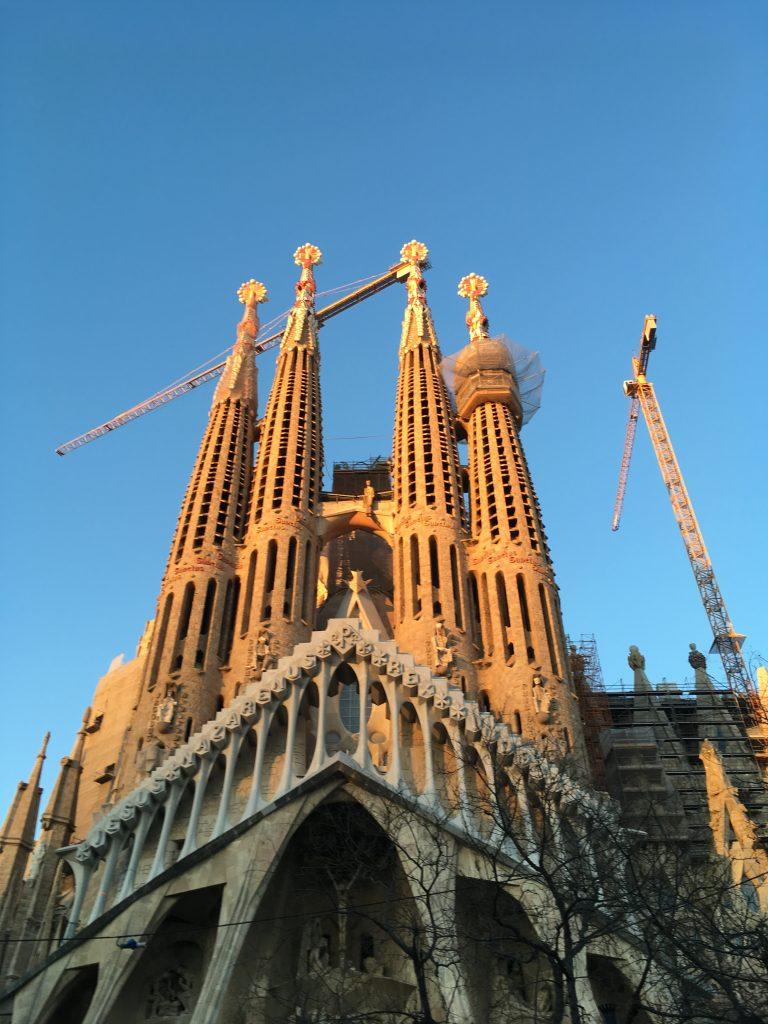 Barcelona Sagrada Familia Passion Facade
