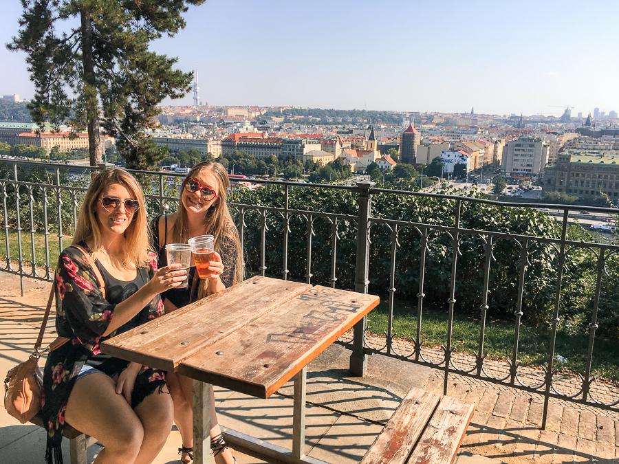 Top 3 Beer Gardens in Prague for Views, Brews & Locals