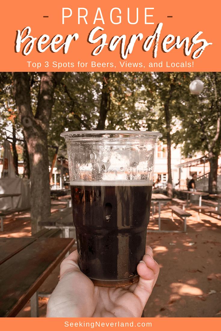 best beer gardens in prague
