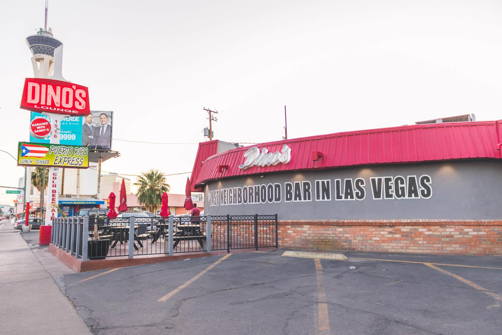 Dinou0027s Lounge Is One Of The Best Dive Bars In Las Vegas