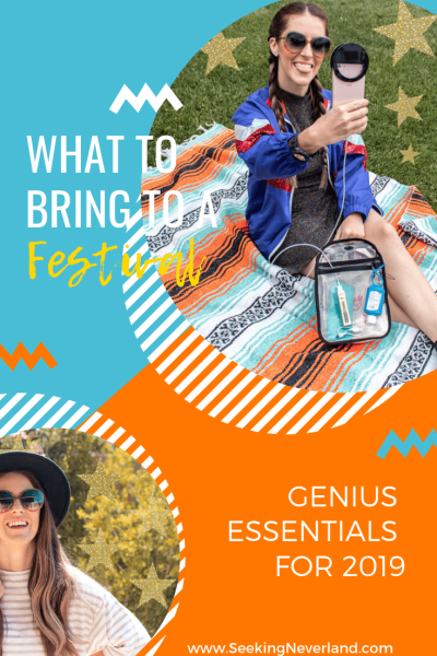 what to bring to a festival