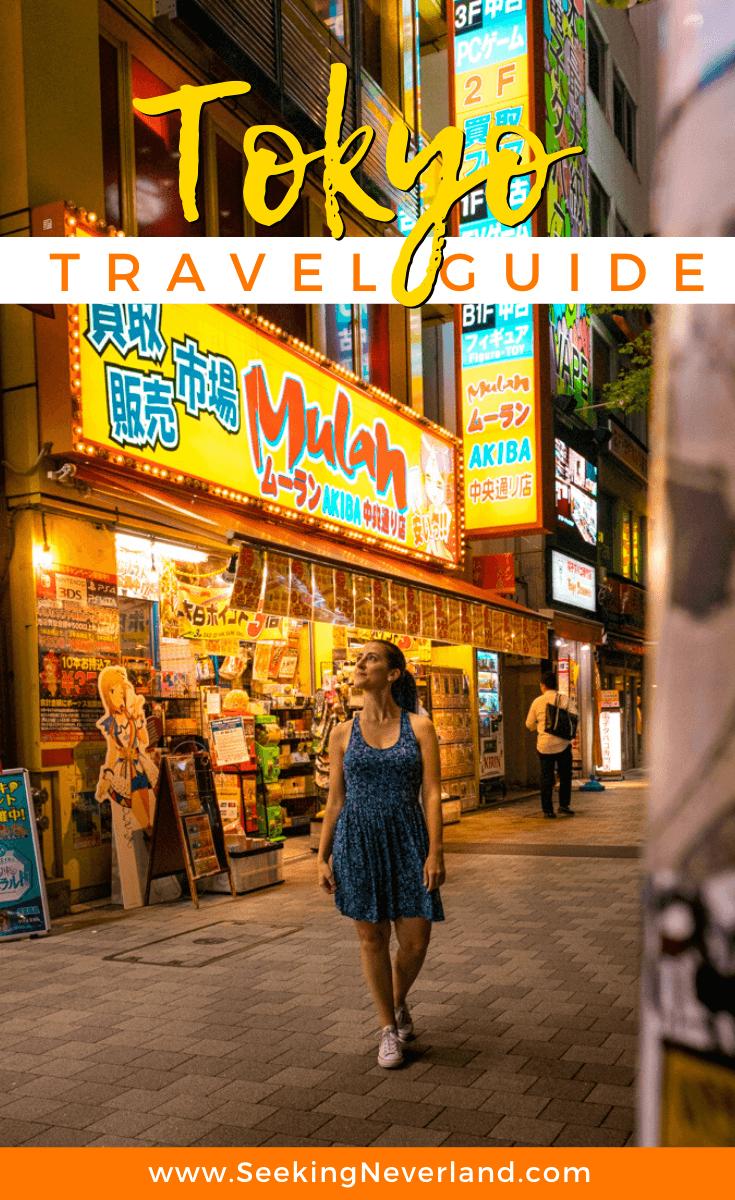 tokyo travel guide one week