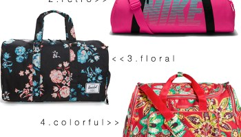 Cute Gym Bags That Are Anything But Basic