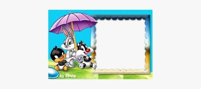 Baby Looney Tunes Birthday Invitation