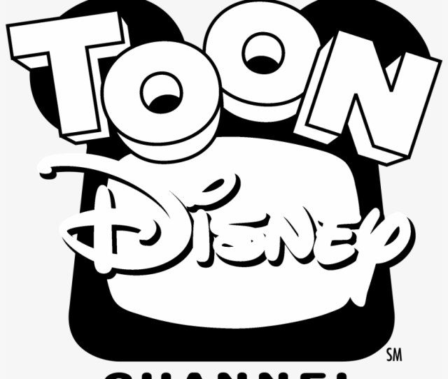 Toon Disney Channel Logo Black And White Toon Disney Channel Logo