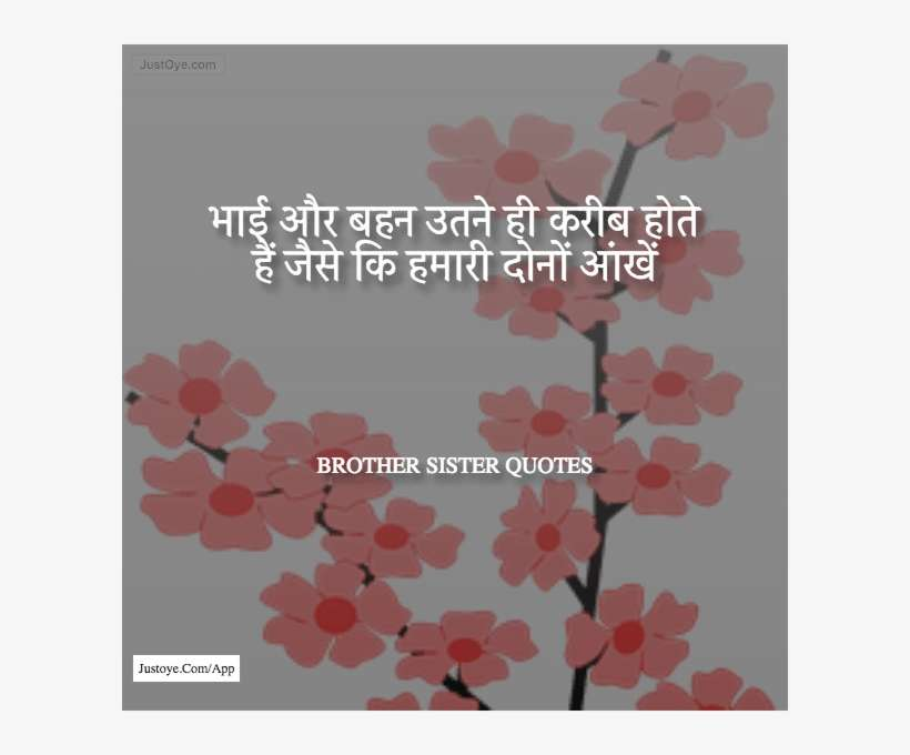 Latest Brother Sister Quotes In Hindi Sakura Flower Vector Png Image Transparent Png Free Download On Seekpng