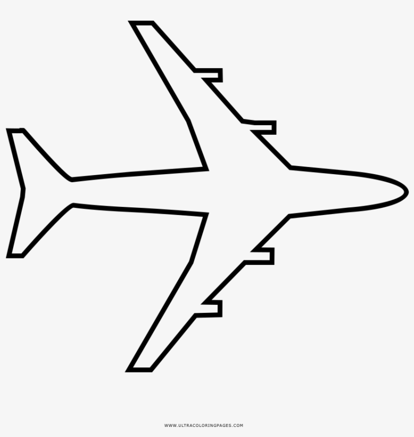 Facilidade no pagamento e entrega rápida. Airplane Coloring Page Desenhar Aviao Png Image Transparent Png Free Download On Seekpng