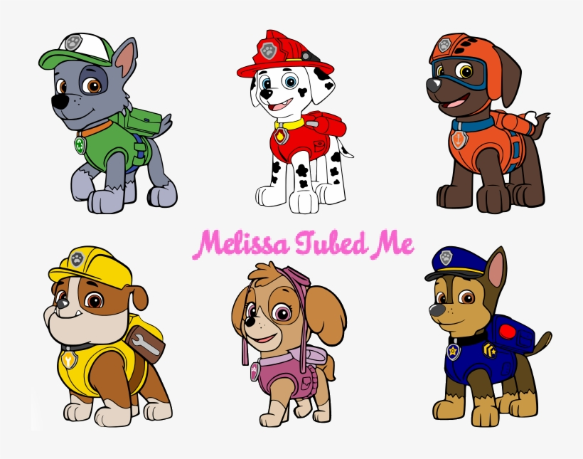 Paw Patrol Disney Princes Clipart Paw Patrol Character Printables Png Image Transparent Png Free Download On Seekpng