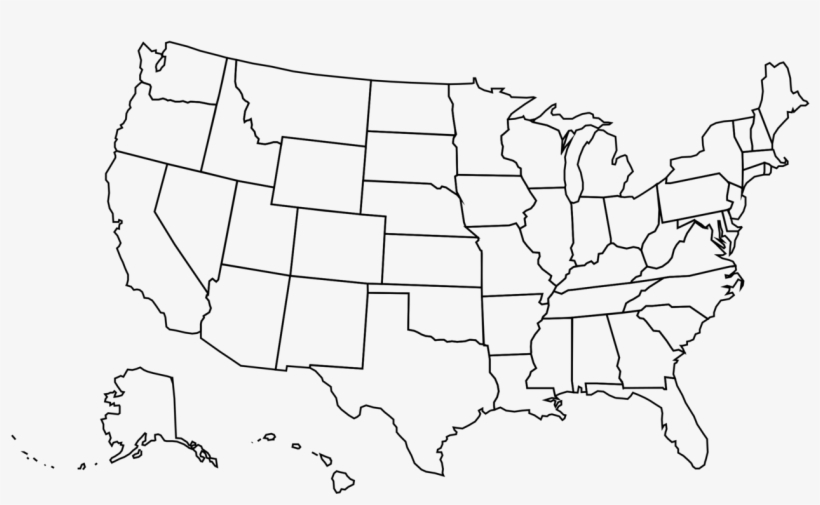Vector is a news and analysis show focusing on the biggest stories, hottest trends, and most important issues in technology and popular culture. America Outline Vector Us Map Outline Png Image Transparent Png Free Download On Seekpng