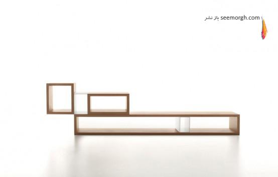 قفسه بندی دیواری