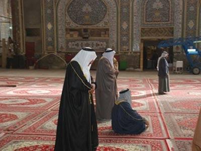 عکس نماز خواندن امام حسین