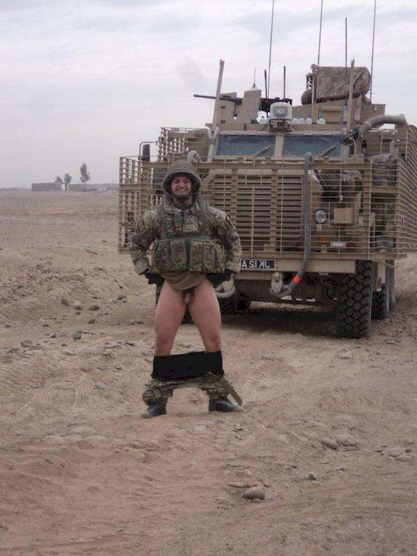 Big uncut cock gay military porn