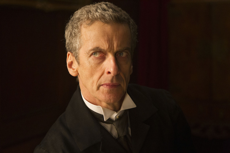 The Doctor (PETER CAPALDI).  Image: BBC/Adrian Rogers