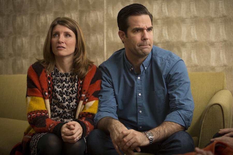 Sharon Horgan and Rob Delaney. Image: Channel 4/Ed Miller