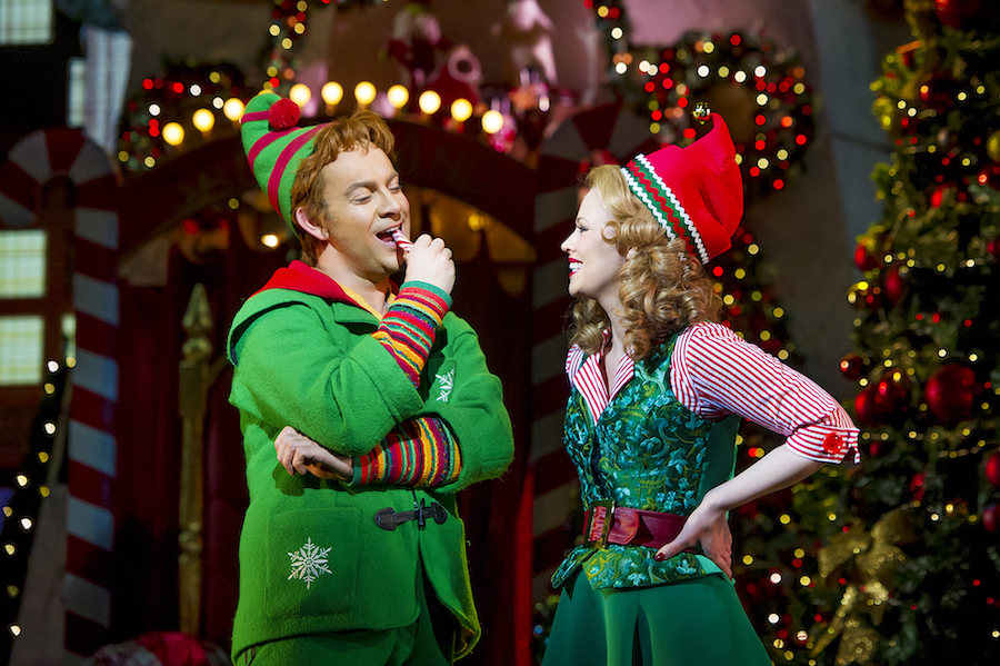 Ben Forster as Buddy and Kimberley Walsh as Jovie