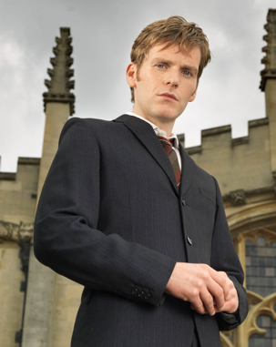 Shaun Evans plays the young Morse