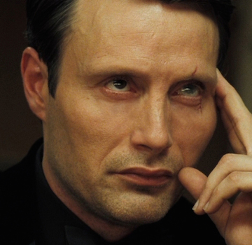 Mads Mikkelsen in Casino Royale. Image: MGM/Sony Pictures/EON