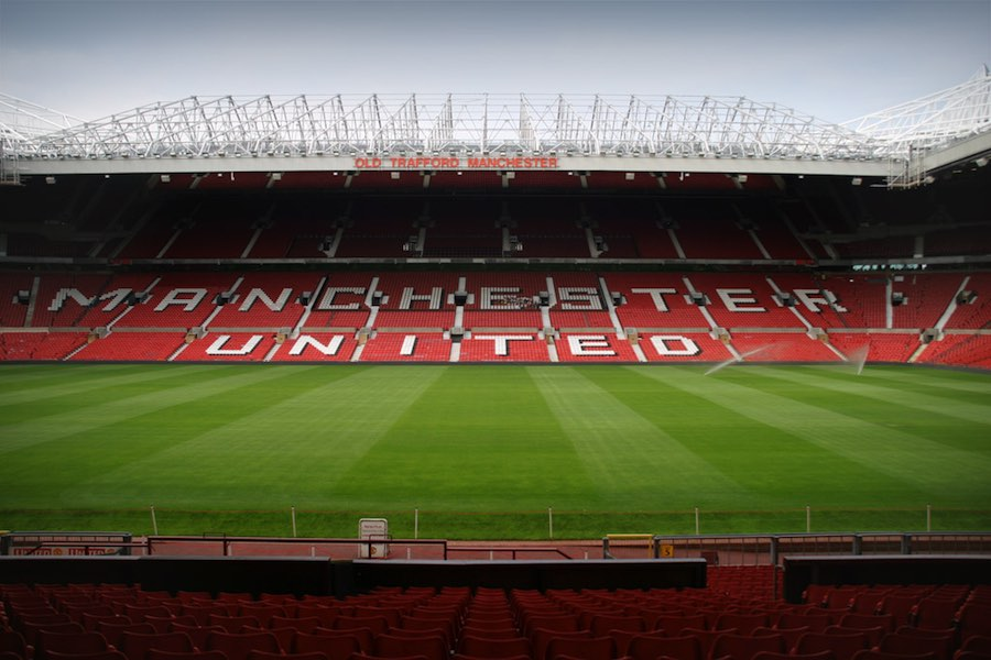 Manchester United's Old Trafford Stadium. Image: André Zahn